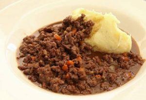 receta de pure de papa con carne
